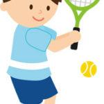 久々にテニスしました